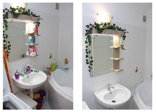 uklizená aneuklizená koupelna