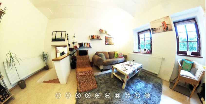 virtuální prohlídka domu - foto