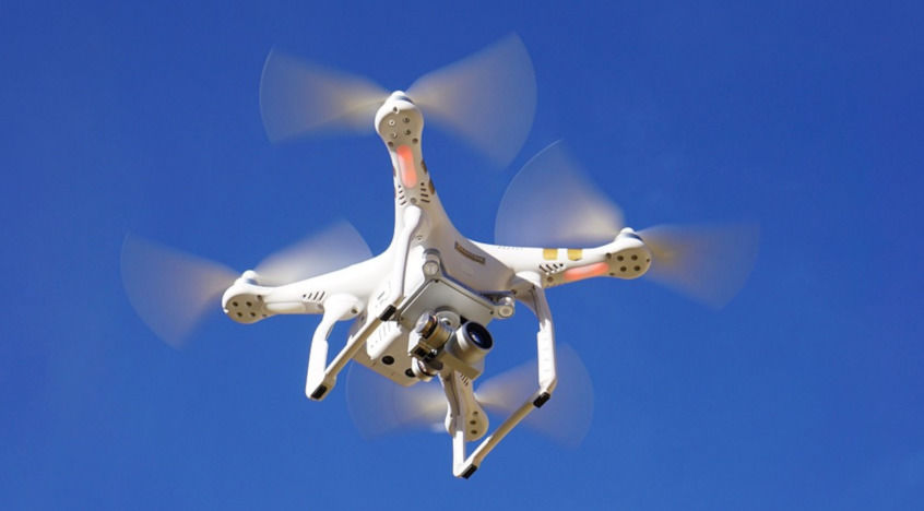 natáčení dronem ifotky zdronu