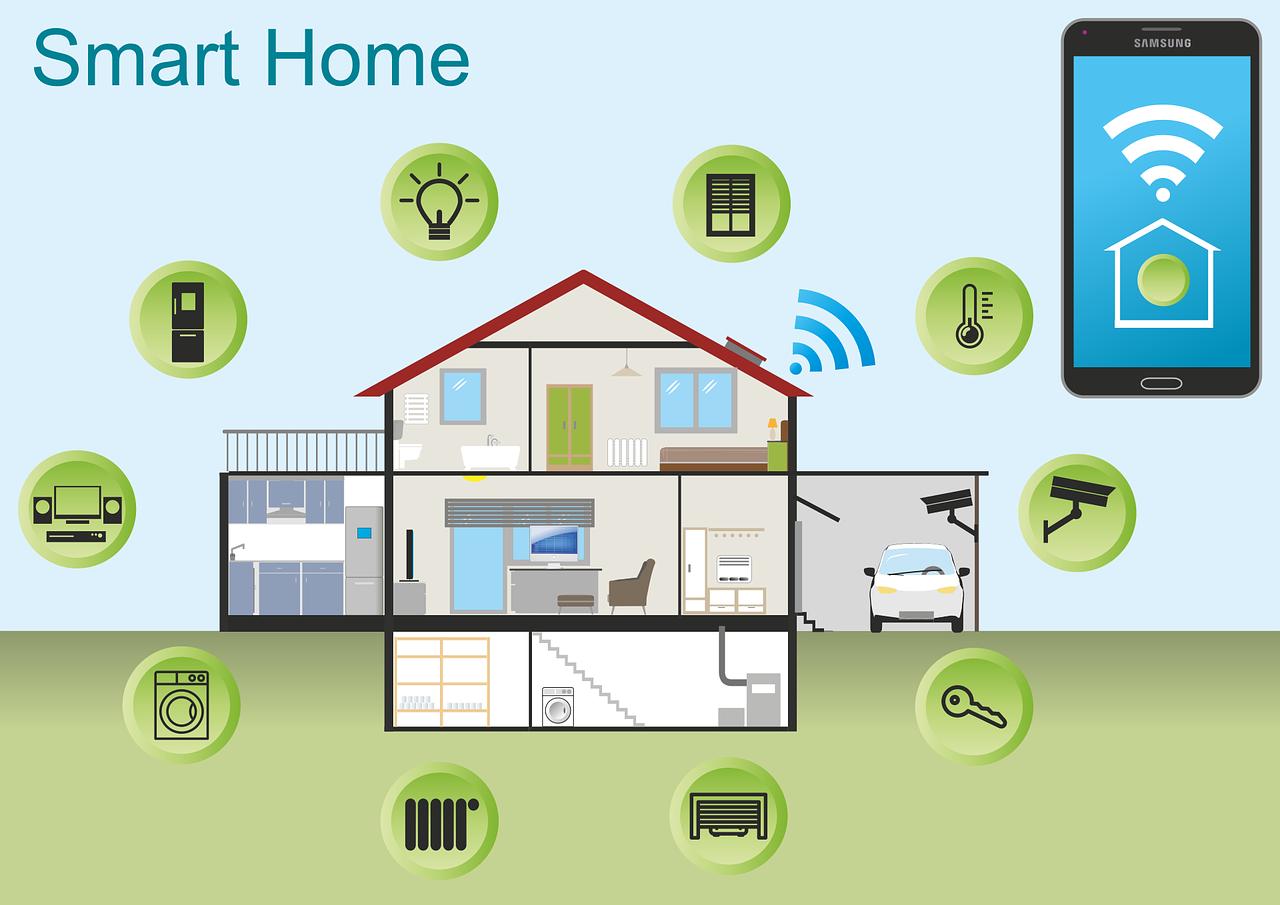 chytrá domácnost - smart home