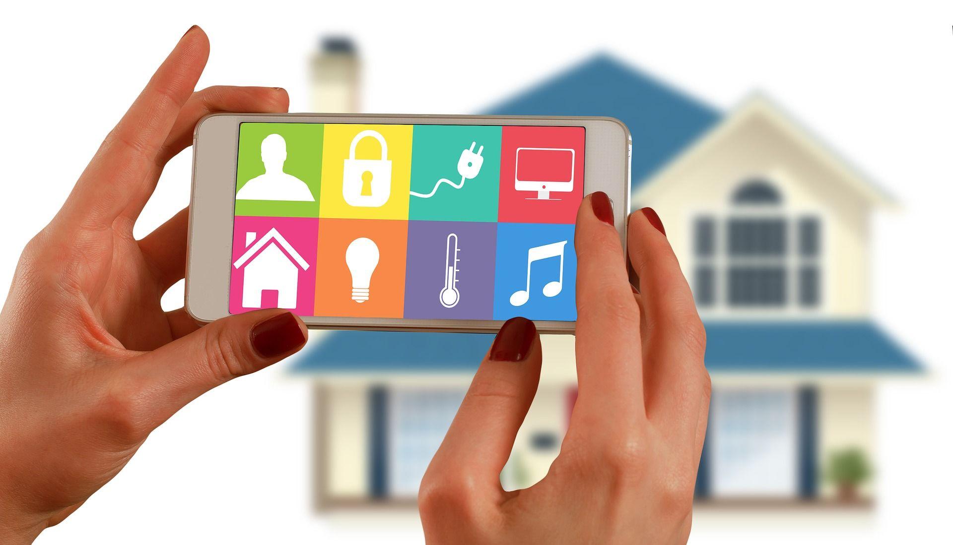 ovládaní přes mobil
