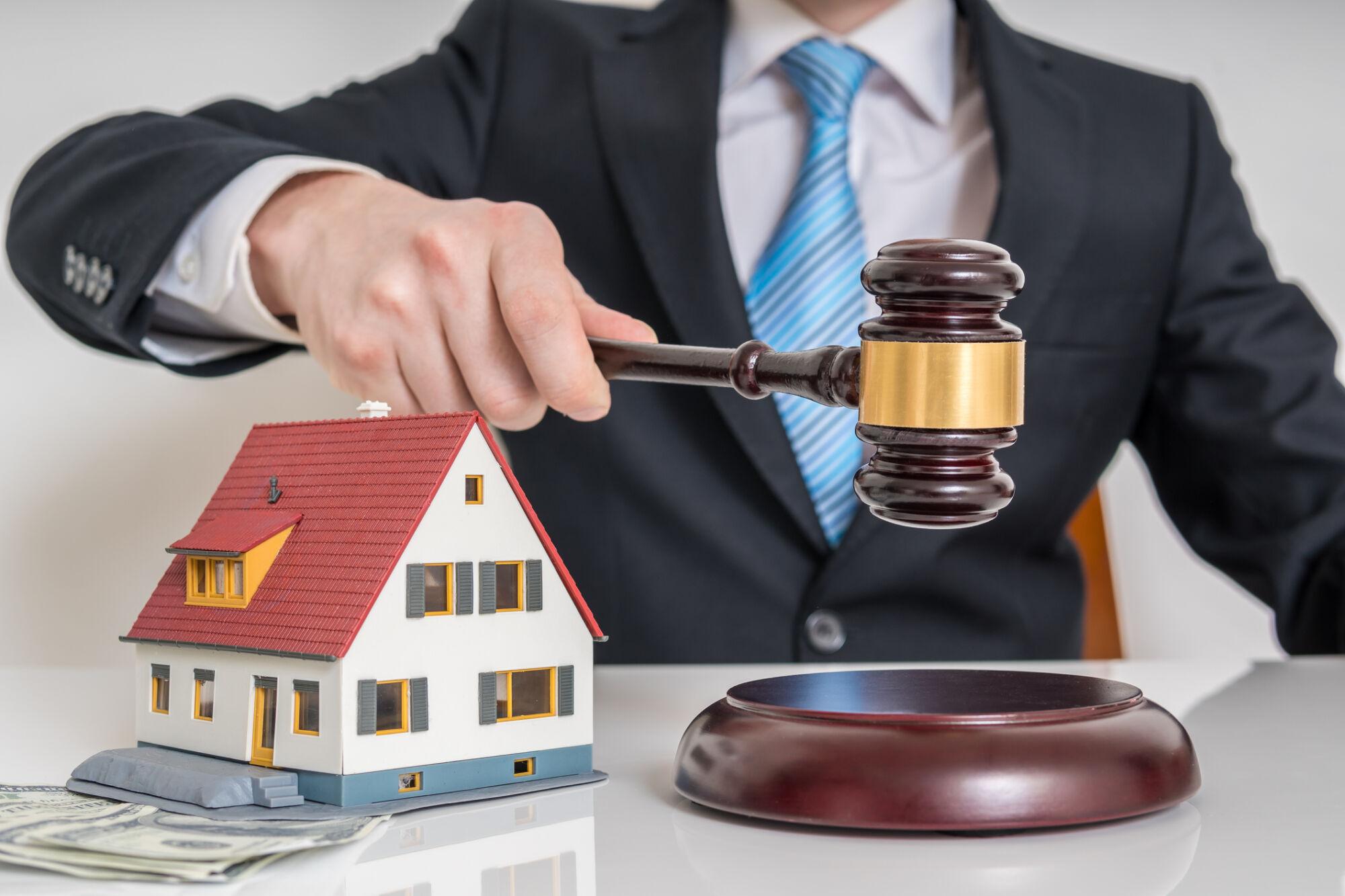 aukce nemovitostí není dražba